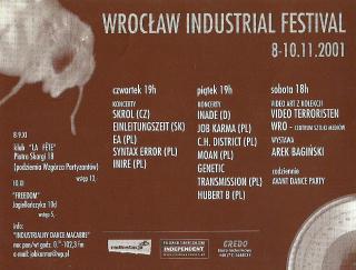 I Wrocław Industrial Festival