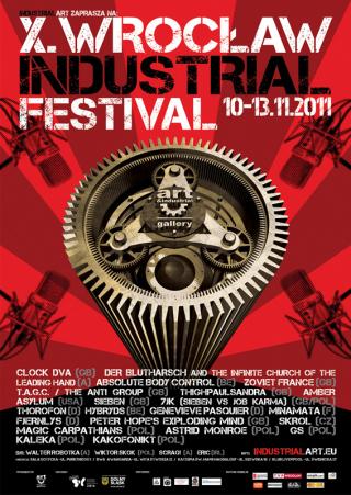 X Wrocław Industrial Festival