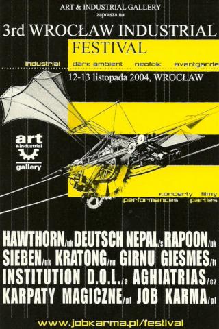 III Wrocław Industrial Festival