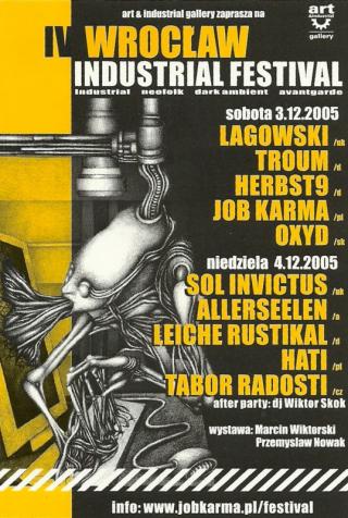 IV Wrocław Industrial Festival